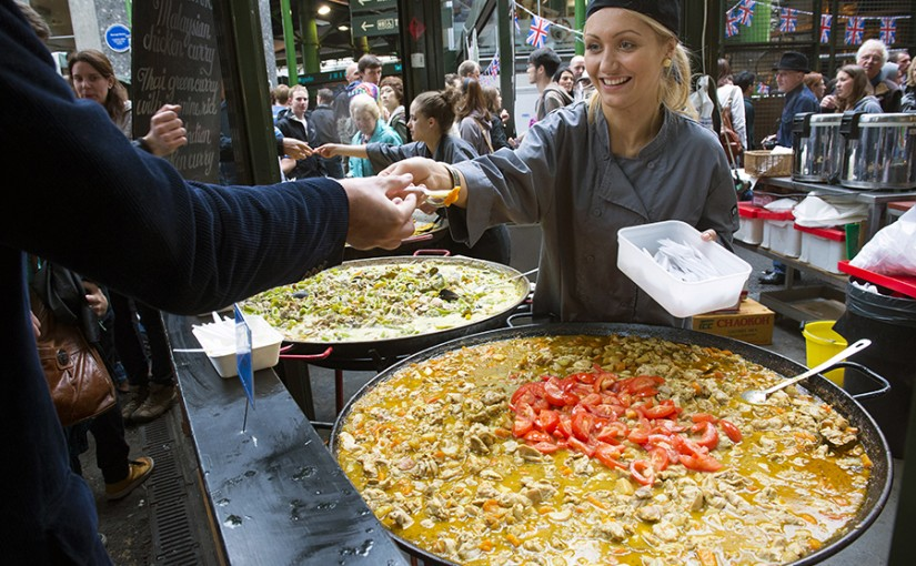 Londres capital del street food en Europa