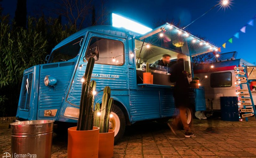 "Eureka street food restaurante ""Pop Up"""