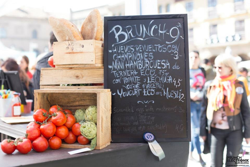 El Filete Ruso, Brunch Electronik Barcelona 2015, street food