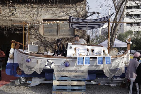Llaüt de L'Empordà, el Food Boat del Street Food
