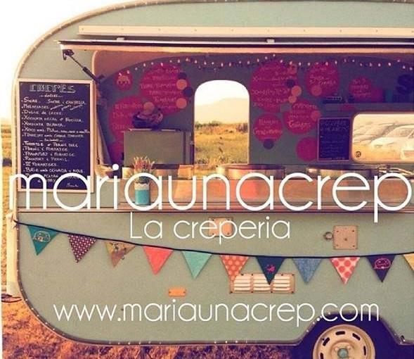 María una crep, la primera caravana Food Truck