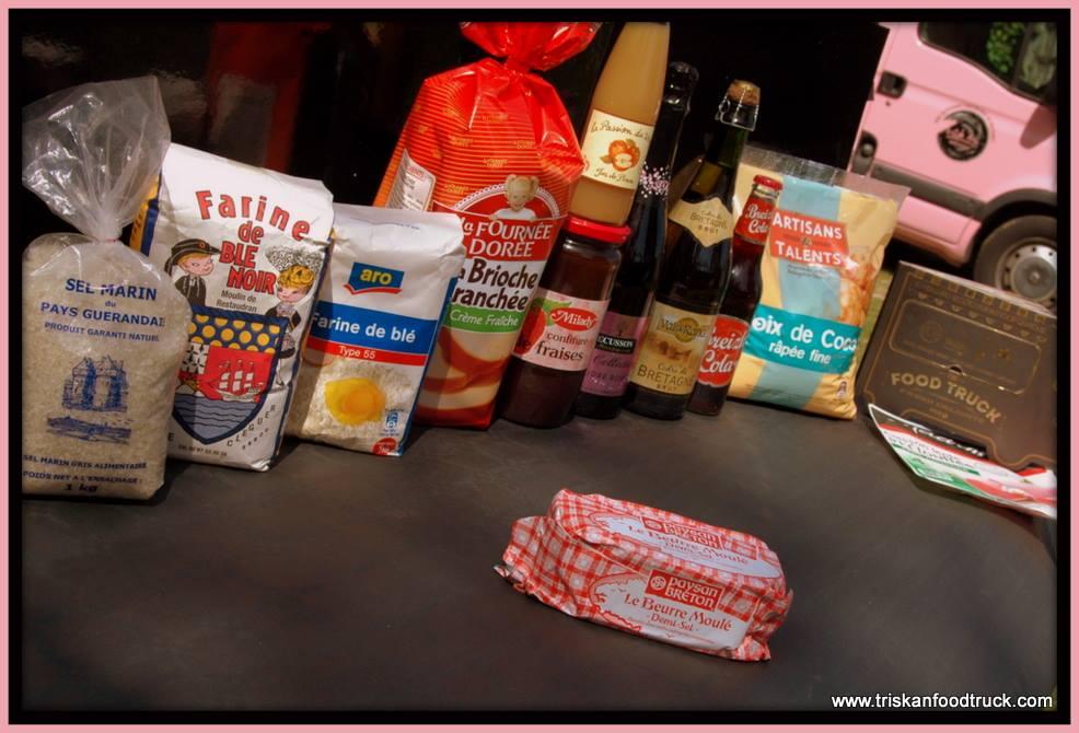Productos traídos de Francia para que la experiencia sea de lo más auténtica. #foodporn