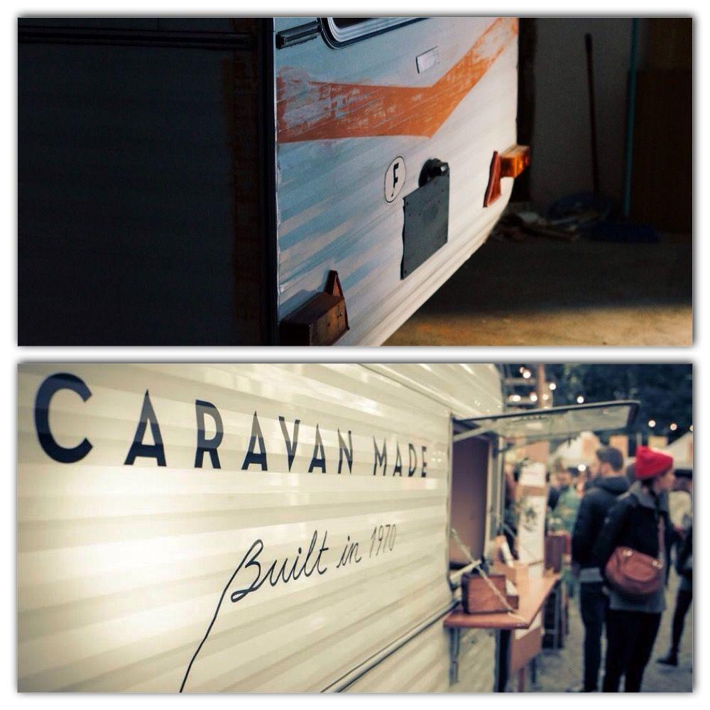 El antes y el después del proyecto de Caravan Made