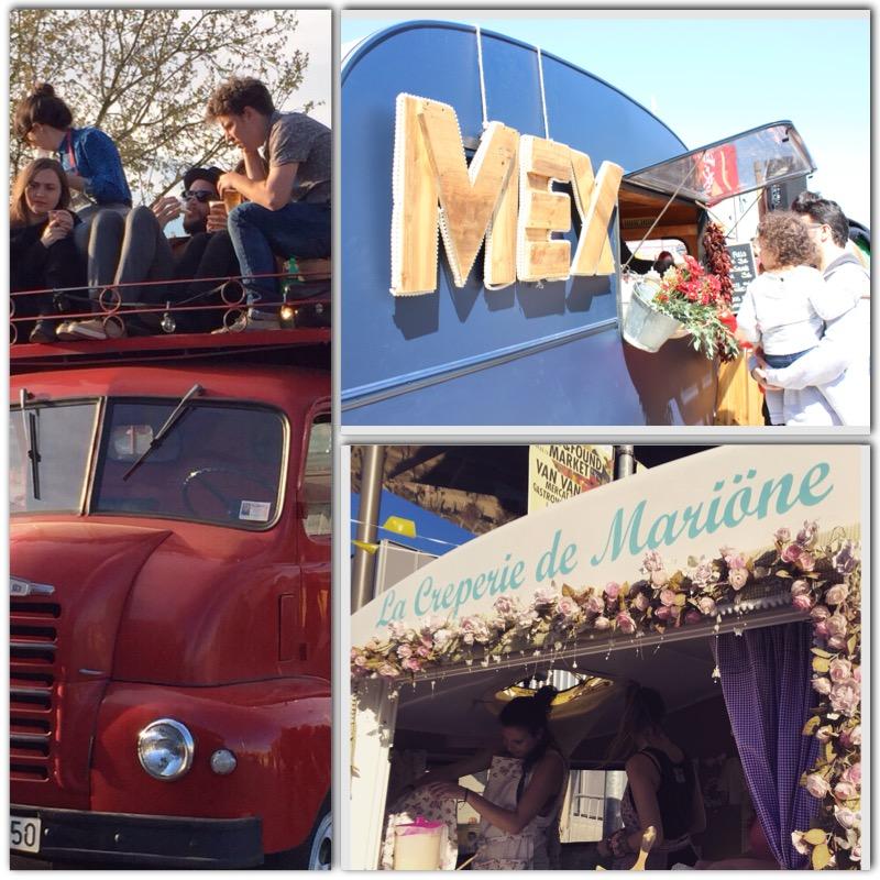 Food trucks y caravanas de todos los colores y para todos los gustos.
