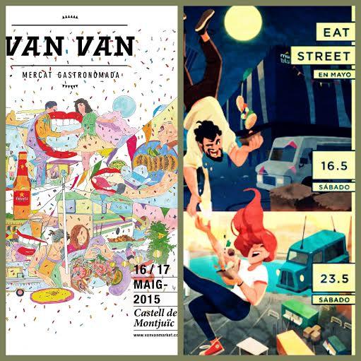 Eat Street y Van Van Market traen la fiesta del street food a Barcelona