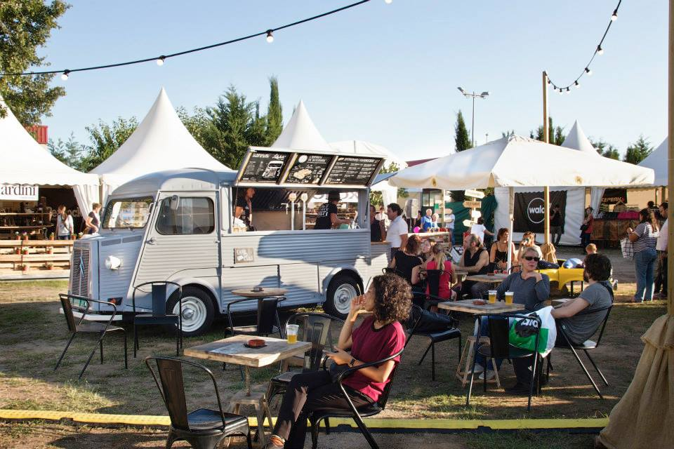 Puedes encontrar el food truck de Lady Buti en todos los eventos de Street food en los que haya música y buen rollo
