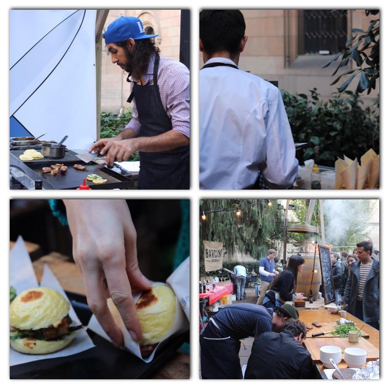Algunos de los mejores chefs del Street food de Barcelona en la 2ª Edición de All Those en la Universitat de Barcelona.