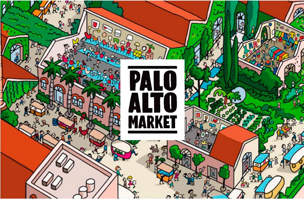 Palo Alto Market: Street food, food trucks y Street market