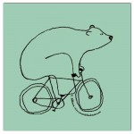 Eat with, Bear on Bike en Garage Beer Co