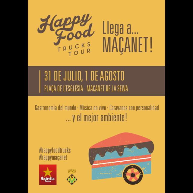 Happy Food Trucks Tour