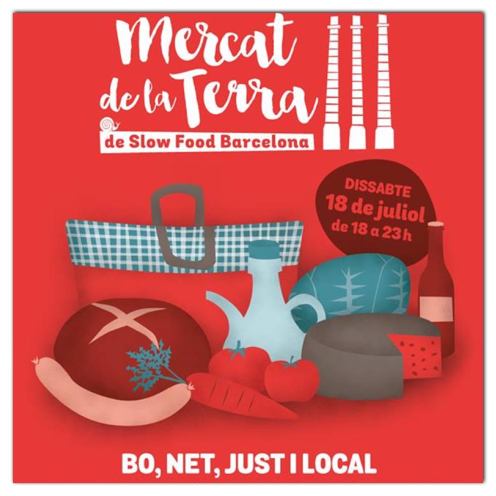 Mercat de la Terra, un mercado de slow food, algo tan necesario en el street food.