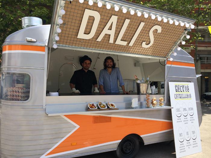 Dalys y el street food