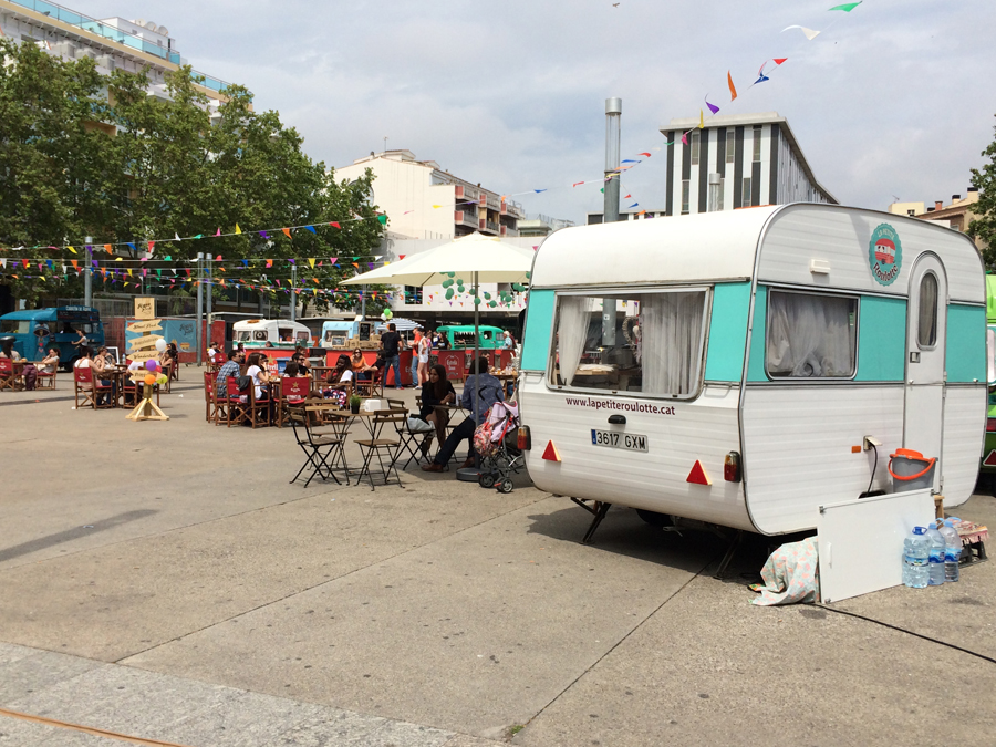 El incremento de food trucks en las citas del street food