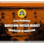 Barcelona Vintage Market en Universitat de Barcelona