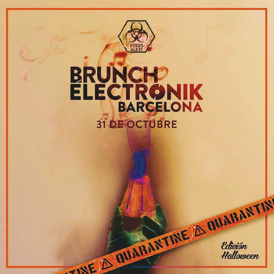 Brunch Electronik Barcelona y su edición Halloween