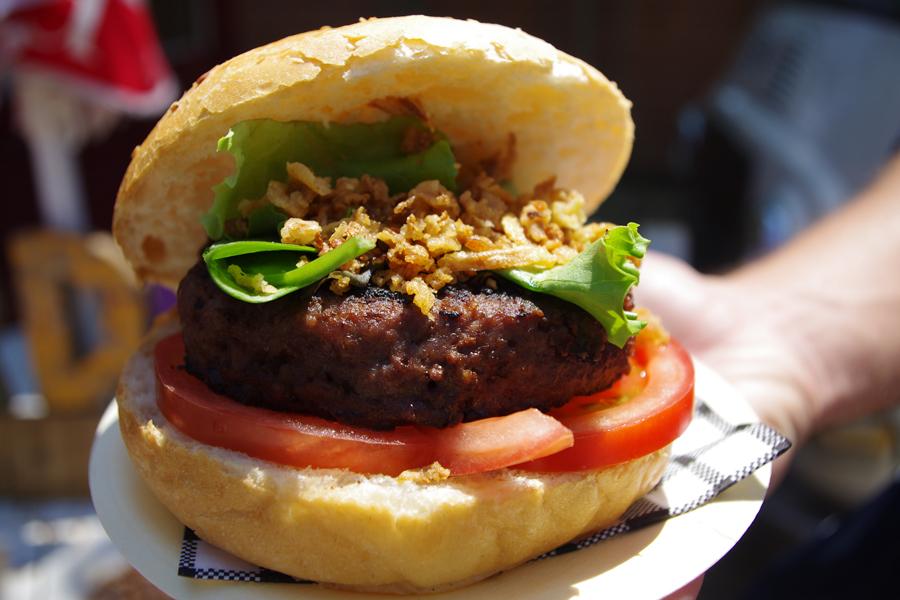 La hamburguesa de Cor de Boun en el street food