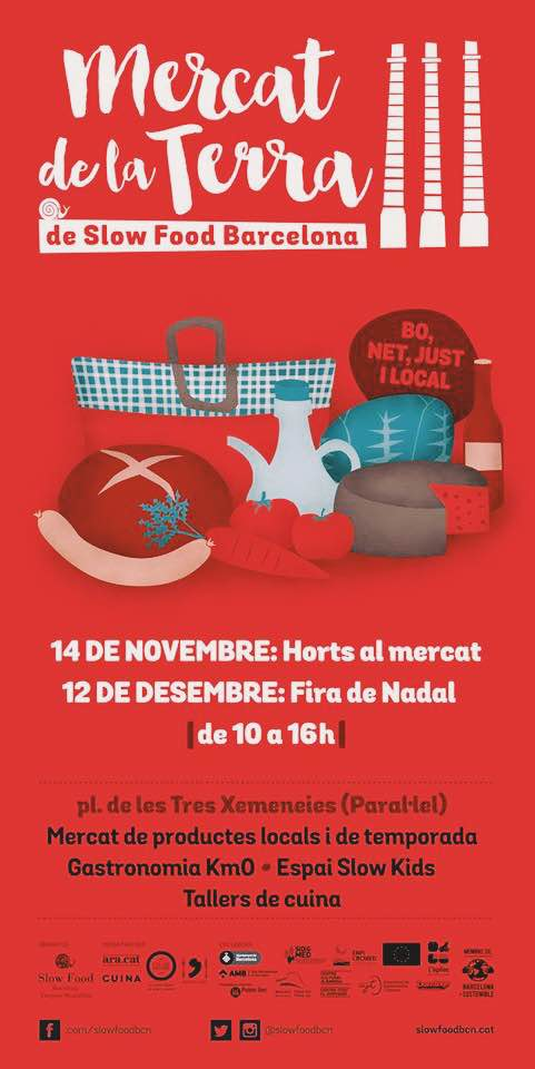 Mercat de la Terra y el movimeinto Slow Food