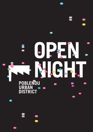 Open Night, Poblenou Urban District