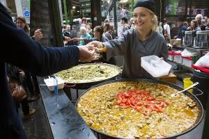 Londres capital del street food en Europa