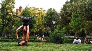 El Parc de la Ciutadella es un buen lugar para comer al aire libre en Barcelona