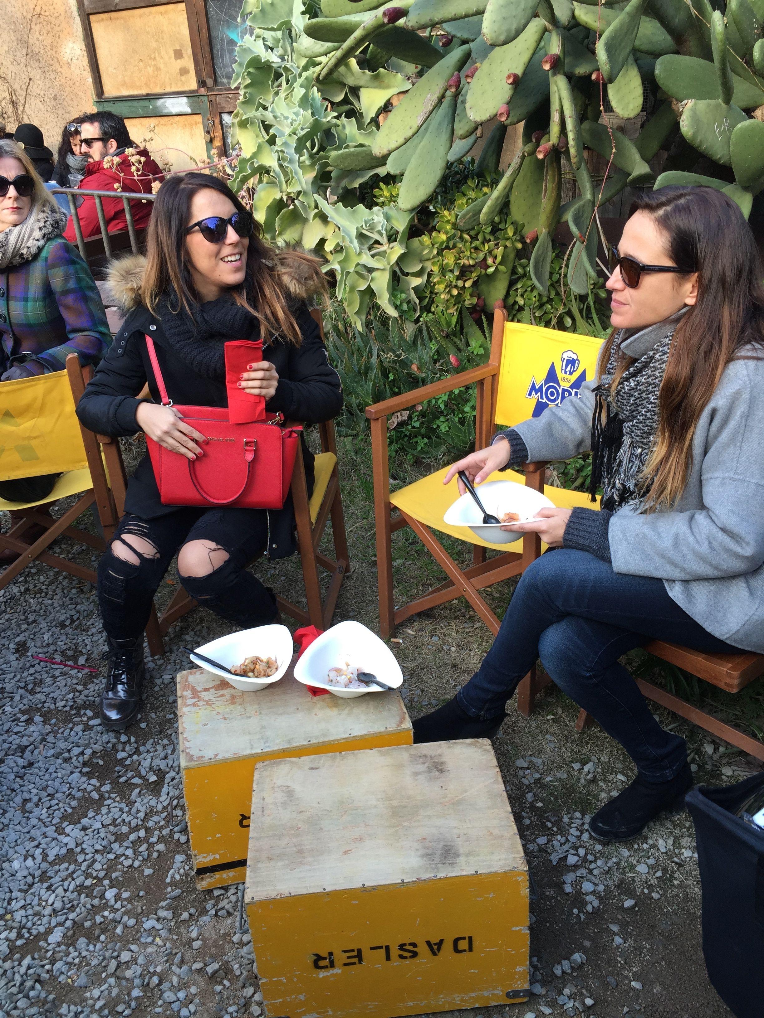 Socializar y comer