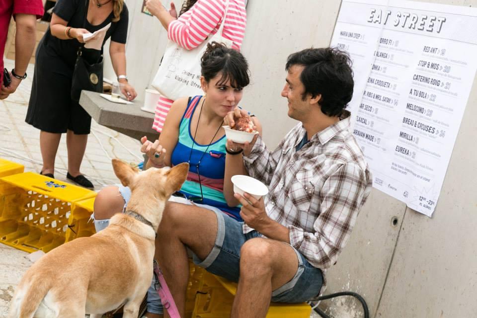 A la edición de Eat Street Barcelona del 18 de abril han sido invitados 22 chefs de varias nacionalidades.