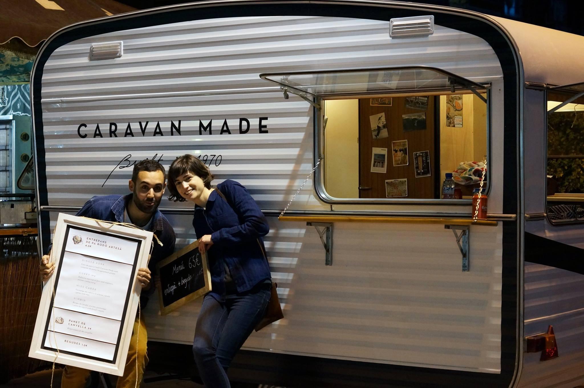 Silvia y Javi, los creadores de Caravan Made