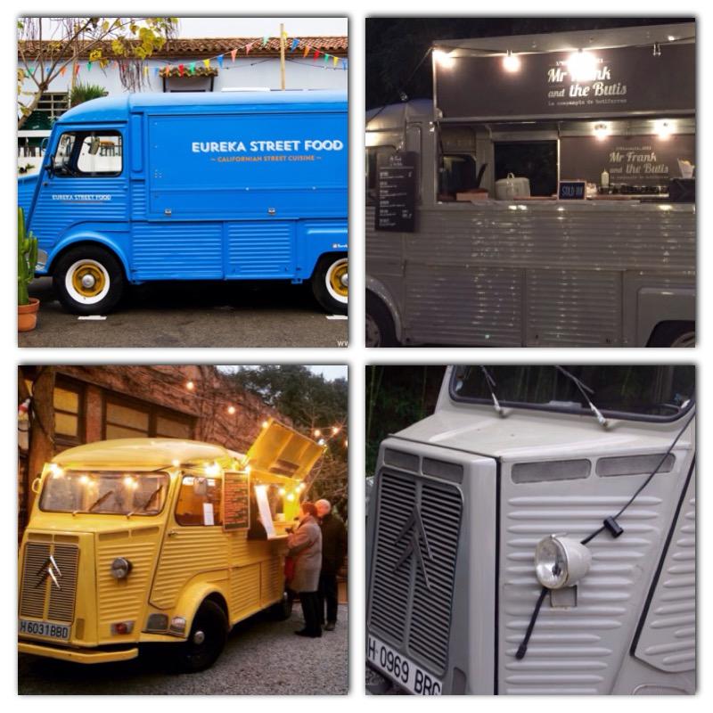 Las Citroën HY, un clásico ya dentro del mundo de los food trucks y el street food