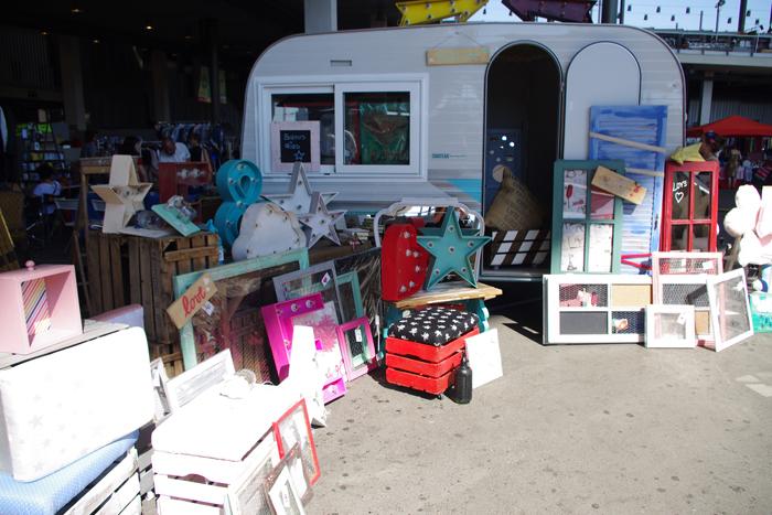 El street food y los productos hand made