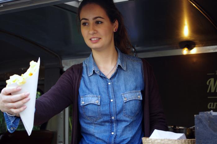 Participar en el street food