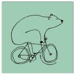 Eat with, Bear on Bike en Garage Beer Co