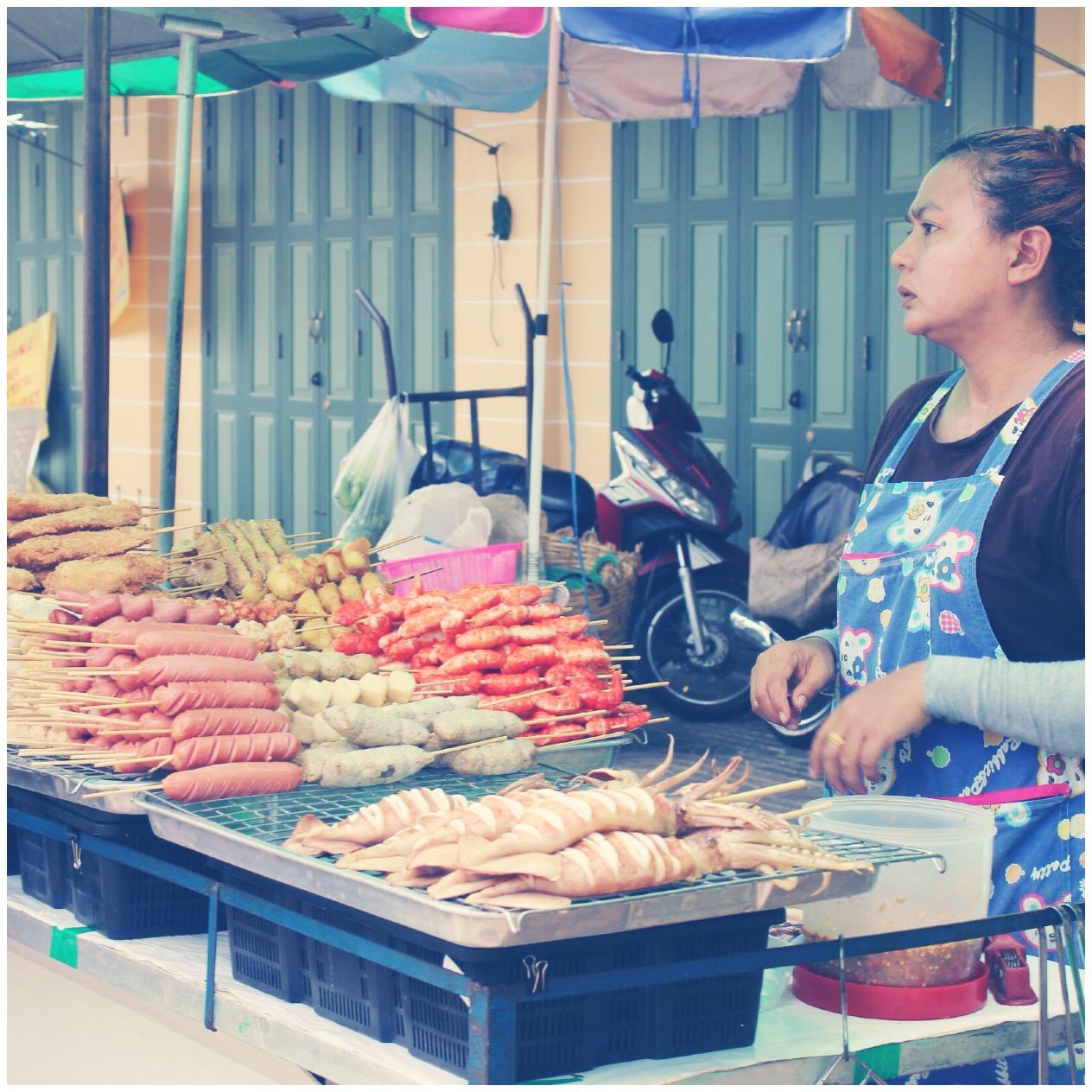 Tailandia, comida callejera