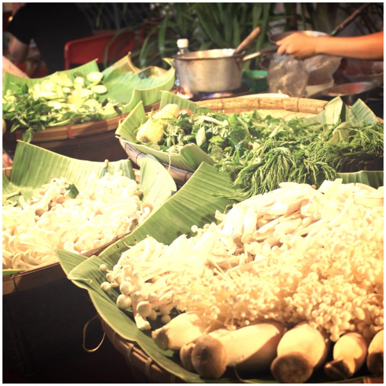 Tailandia, mercados nocturnos