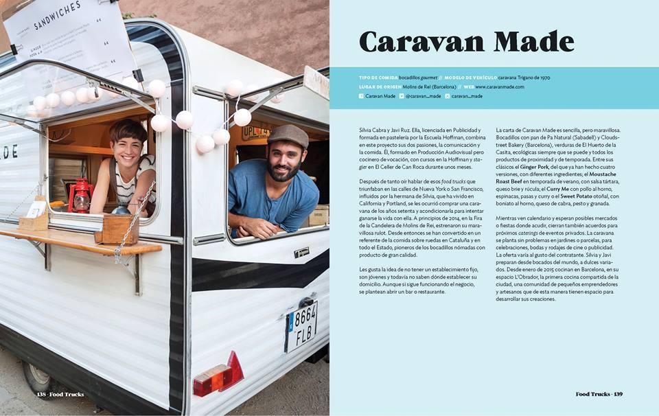 Food truck caravan made